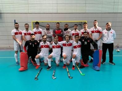 Erkek Salon Hokeyi Milli Takımı Avrupa Şampiyonasına İyi Başladı