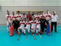 İSVIÇRE - Erkek Salon Hokeyi Milli Takımı Avrupa Şampiyonasına İyi Başladı