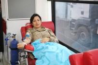İL JANDARMA KOMUTANLIĞI - Jandarmadan 'Kan Ver Hayat Kurtar' Kampanyasına Destek