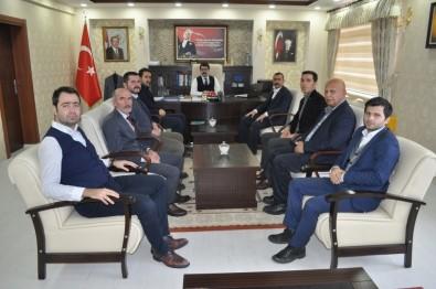 Kamu-Sen Başkanı Ahmet Çalışkan'dan Kaymakam Coşkuna Ziyaret