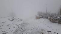 ŞAHIT - Kar Mazıdağı'nı Beyaza Bürüdü
