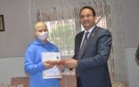 LENFOMA - Kaymakam Ertürkmen, Kanser Hastası Öğrenciye Karnesini Evde Verdi