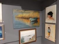 RESIM SERGISI - Kuşadası Sanat Galerisi'nde Karma Resim Sergisi