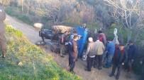 TRAFIK KAZASı - Milas'ta Traktör Kazası Açıklaması 2 Yaralı