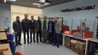 SPOR MERKEZİ - Proje Ekibi Manisa'da İncelemelerde Bulundu