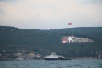 SAHİL GÜVENLİK - Rus Askerî Gemileri Çanakkale Boğazı'ndan Geçti