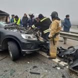TRAFIK KAZASı - Rusya'da Zincirleme Trafik Kazası Açıklaması 2 Ölü, 12 Yaralı