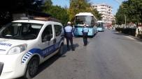 OKUL SERVİSİ - Tarsus'ta Toplu Taşıma Ve Servis Araçları Denetlendi