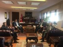 Uçhisar Belediye Başkanı Süslü, Kütüphaneler Genel Müdürü Turşucu'yu Ziyaret Etti