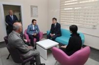 DİŞ SAĞLIĞI - Vali Oktay Çağatay, Sağlıklı Hayat Merkezi'ni Ziyaret Etti