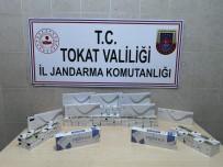 İRAN - Valizinden 390 Paket Kaçak Sigara Çıktı