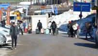 Yarı Yıl Tatili Başladı, Ancak Uludağ'a İlk Gün İlgi Az