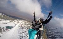 YAMAÇ PARAŞÜTÜ - 2 Bin 950 Metrede Göl Manzaralı Kayak Ve Paraşüt Keyfi
