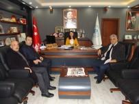 AK Parti İlçe Teşkilatından Başkan Tekin'e Ziyaret
