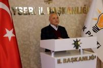 MEMDUH BÜYÜKKıLıÇ - AK Parti Kayseri Milletvekili İsmail Tamer Açıklaması