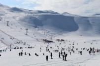 Bingöl'de Kayak Merkezi, Tatille Birlikte Doldu