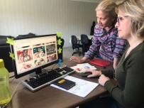 MILLI EĞITIM MÜDÜRLÜĞÜ - El Emeği Göz Nuru Ürünlerini Sosyal Medyadan Satıp Aile Ekonomilerine Katkı Sağlıyorlar