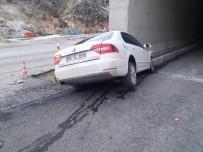 ERKENEK - Erkenek Tüneli Girişinde Kaza Açıklaması 3 Yaralı