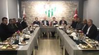 BURSA VALİLİĞİ - Eski Futbolculardan Bursaspor'a Büyük Destek