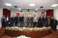 KARAKÖPRÜ - Karaköprü Belediyespor Başkanı Ahmet Kenan Kayral Oldu
