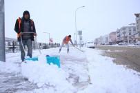 FEDAKARLıK - Karaman'da Karla Mücadele Çalışmaları