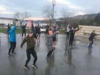 BİSİKLET - Kartallılar Soğuğa Aldırış Etmeden Sabah Sporunda Buluştu