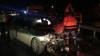 AĞIR YARALI - Keşan'da Feci Kaza Açıklaması 3 Ölü 2 Yaralı