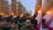 GÖZ YAŞARTICI GAZ - Lübnan'da Protestocularla Polis Arasında Arbede Açıklaması 100 Yaralı