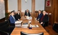 Milletvekili Aydın Ve Başkan Kılınç, Karayolları Genel Müdürü Uraloğlu İle Görüştü