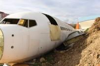 SİGORTA ŞİRKETİ - Pistten Çıkan Uçağın Trabzon Dışına Satışına Başkan Bıyık'tan Veto