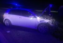 112 ACİL SERVİS - Tavşanlı'da Trafik Kazası Açıklaması 2 Yaralı