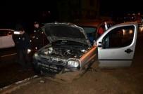Terme'de Trafik Kazası Açıklaması 5 Yaralı