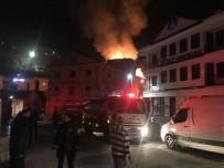 3 Katlı Metruk Bina Alevlere Teslim