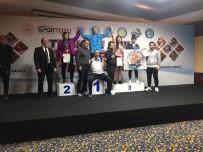 GENÇ KADIN - Atakum Belediyespor'dan Üçlü Bronz Başarı