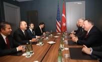 DIŞİŞLERİ BAKANI - Dışişleri Bakanı Çavuşoğlu ABD'li mevkidaşı Pompeo ile bir araya geldi