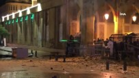 YOLSUZLUK - Beyrut'ta protesto: 90 yaralı