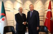 ALMANYA - Cumhurbaşkanı Erdoğan, Cezayirli Mevkidaşı Tebbun İle Görüştü