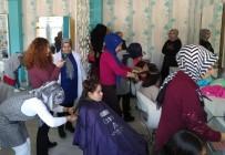 HEM Kursiyerlerinden Engelli Kızlara Saç Bakım Hizmeti