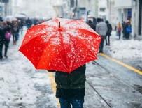 MARMARA BÖLGESI - İstanbul'a kar geliyor