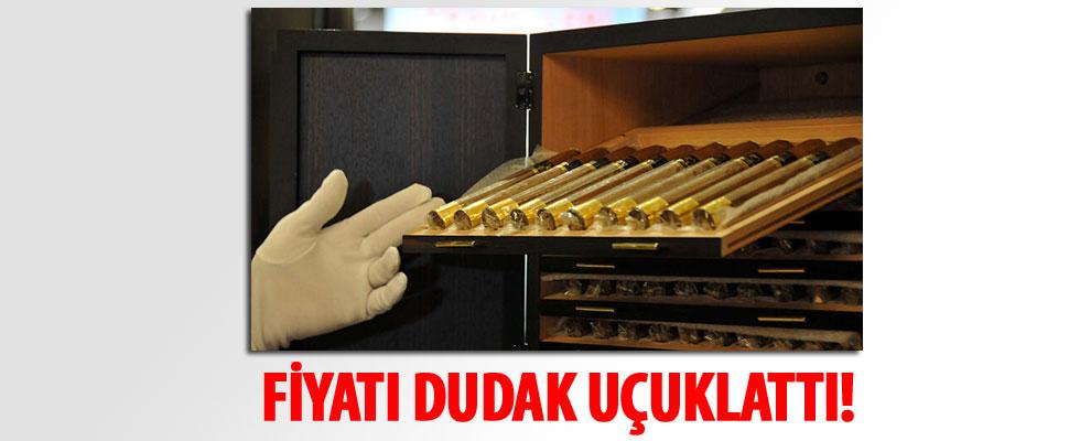 İstanbul Havalimanı'nda 2.5 milyon liraya puro