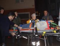 Servis Otobüsü İle Otomobil Çarpıştı Açıklaması 1 Yaralı