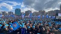 TÜRK METAL SENDIKASı - Türk Metal Sendikası Bursa Mitingi'nde Binlerce İşçi Buluştu