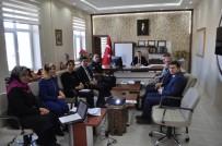 Arpaçay'da 'Kadına Yönelik Şiddetle Mücadele' Toplantısı Yapıldı