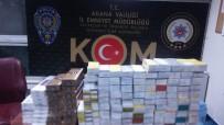 YOLCU TAŞIMACILIĞI - Bidonlardan 300 Bin Liralık Kaçak Cep Telefonu Çıktı