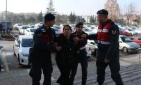 Bolu'da, Kimlik Kontrolünde Yakalanan DHKPC'li Kadın Adliyeye Sevk Edildi