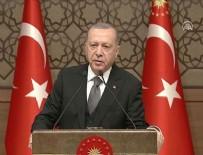 CUMHURBAŞKANLIĞI KÜLLİYESİ - Cumhurbaşkanı Erdoğan: Dikey mimariyle şehirlerimize ihanet etmiş oluruz