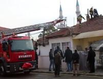 Erzincan'da Baca Yangını Korkuttu