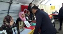 HDP Önünde Evlat Nöbeti Tutan Ailelere Destek Ziyareti Sürüyor
