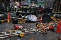 GÖZ YAŞARTICI GAZ - Hong Kong'da 6 Ayda 7 Bin Kişi Gözaltına Alındı