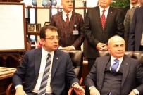 EKREM İMAMOĞLU - İBB Başkanı İmamoğlu, Başkan Akgün'ü Ziyaret Etti